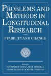 Problems and Methods in Longitudinal Research: Stability and Change - David Magnusson