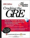 Cracking the GRE with Sample Tests on CD-ROM, 2003 Edition [With CD-ROM] - Karen Lurie