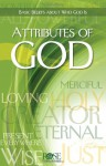 Attributes of God pamphlet - Rose Publishing