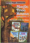 Hardcover Magic Tree House Collection #1 (The Mystery of the Tree House with 4 Illustrated Stories) - Mary Pope Osborne