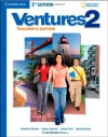 Ventures Level 2 Teacher's Edition with Assessment Audio CD/CD-ROM - Gretchen Bitterlin, Dennis Johnson, Donna Price, Sylvia Ramirez, K. Lynn Savage
