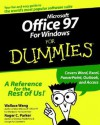 Microsoft Office 97 Windows for Dummies - Feigelson, Roger C. Parker, Feigelson
