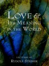 Love and Its Meaning in the World - Steiner Rudolf, Bamford Christopher