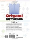 Origami Anywhere: Why Throw It Out When You Can Fold It Up? - Nick Robinson