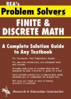 Finite and Discrete Math Problem Solver - Research & Education Association, James R. Ogden, Research & Education Association