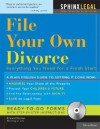 File Your Own Divorce (+CD-ROM): Everything You Need for a Fresh Start - Edward A. Haman