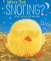 Who's That Snoring?: A Pull-the-Tab Bedtime Book - Jason Chapman