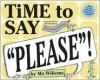 """Time to Say """"Please""""! (with game board) - Mo Willems"""