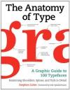 The Anatomy of Type: A Graphic Guide to 100 Typefaces - Stephen Coles, Erik Spiekermann, Tony Seddon