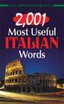 2,001 Most Useful Italian Words - Giovanni Dettori