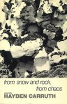 From Snow and Rock, from Chaos - Hayden Carruth
