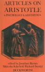 Articles on Aristotle: Psychology and Aesthetics - Jonathan Barnes, Richard Sorabji, Malcolm Schofield