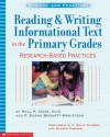 Reading & Writing Informational Text In The Primary Grades - Nell K. Duke, V. Susan Bennett-Armistead, P. David Pearson, Sharon Taberski, Susan V. Bennett-Armistead