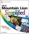OS X Mountain Lion Simplified - Paul McFedries