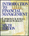 Introduction to Financial Management - Lawrence D. Schall, Charles W. Haley