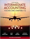 Intermediate Accounting Volume 1 Ch 1-12 w/Google Annual Report - J. David Spiceland, James Sepe, Lawrence A. Tomassini