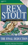 The Final Deduction (Audio) - Rex Stout