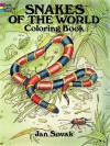 Snakes of the World Coloring Book - Jan Sovak