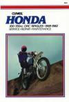 Honda 100-350cc OHC Singles, 1969-1982; Service, Repair, Maintenance (Clymer Motorcycle Repair Series, M315) - Eric Jorgensen, Ed Scott