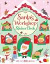Santa's Workshop Sticker Book - Fiona Watt, Stella Baggott