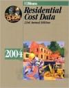 Residential Cost Data - R.S. Means Engineering, Robert A. Bastoni, John H. Chiange, Robert J. Kuchta, Robert C. McNicholes, Jeannene D. Murphy, R.S. Means Engineering, Robert W. Mewis, John J. Moylan