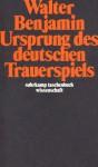 Ursprung Des Deutschen Trauerspiels (German Edition) - Walter Benjamin, Rolf Tiedemann