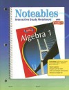 Algebra 1, Noteables: Interactive Study Notebook with Foldables - Dinah Zike, Douglas Fisher