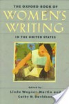 The Oxford Book of Women's Writing in the United States - Linda Wagner-Martin
