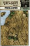 NOT A BOOK GameMastery Flip-Mat - Pirate Island - NOT A BOOK