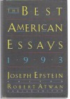 The Best American Essays 1993 - Joseph Epstein, Robert Atwan