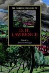 The Cambridge Companion to D. H. Lawrence - Anne Fernihough