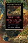 The Cambridge Companion to British Romantic Poetry (Cambridge Companions to Literature) - Maureen N. McLane, James Chandler