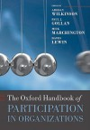 The Oxford Handbook of Participation in Organizations - Adrian Wilkinson, Mick Marchington, David Lewin, Paul J. Gollan