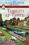 Threats at Three - Ann Purser