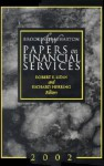 Brookings-Wharton Papers on Financial Services: 2002 - Robert E. Litan