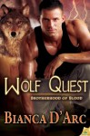 Wolf Quest (Brotherhood of Blood #7) - Bianca D'Arc