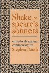 Shakespeare's Sonnets - Stephen Booth, William Shakespeare