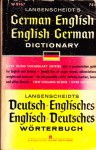 Langenscheidt's German-English, English-German dictionary - Peter Turrini