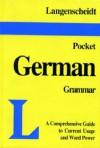 Langenscheidt's Pocket German Grammar - Langenscheidt