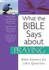 What the Bible Says about Praying - Christopher D. Hudson