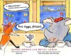 Two eggs, please.: with audio recording - Sarah Weeks, Betsy Lewin