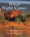 When Night Comes - Ron Hirschi
