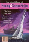 The Magazine of Fantasy and Science Fiction, February 1992 - Orson Scott Card, Isaac Asimov, Charles de Lint, Kristine Kathryn Rusch, Jack C. Haldeman II, Algis Budrys, Deborah Wheeler, Steven Utley, Carolyn Ives Gilman, James Lawson, Wendy Counsil, Robert Onopa, Victor Koman