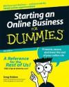 Starting an Online Business for Dummies - Greg Holden
