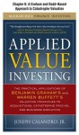 Applied Value Investing, Chapter - - 6 a Graham and Dodd--Based Approach to Catastrophe Valuation - Joseph Calandro Jr.