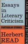 Essays in Literary Criticism - Herbert Read