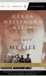 All But My Life - Gerda Weissmann Klein, Barbara Rosenblat