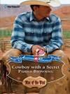 Cowboy with a Secret (Men of the West) - Pamela Browning