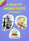 Creepy Monsters Stickers - Frank Daniel