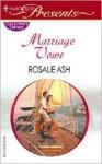Marriage Vows - Rosalie Ash